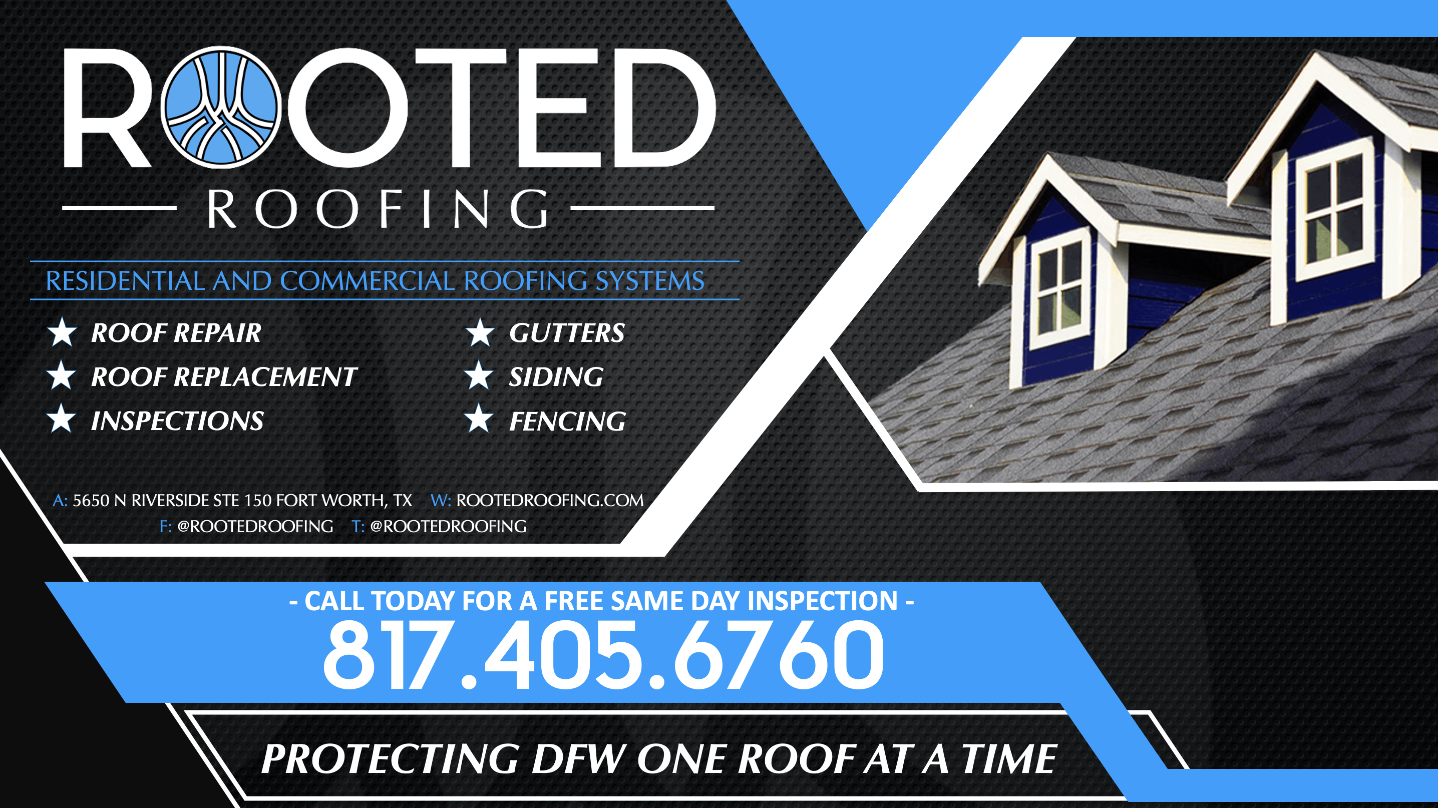 Residential Rooted Roofing